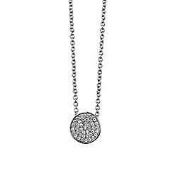 Dyrberg Kern - Silver 'Leah' 45cm necklace
