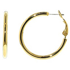 Finesse - Gold hoop earrings