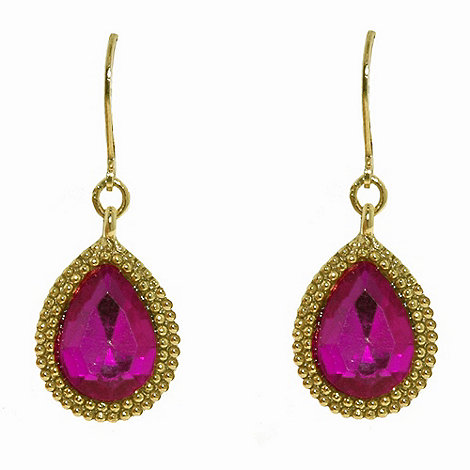 1928 - Bollywood brights teardrop earrings