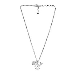 DKNY - Silver charm necklace