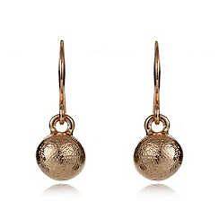 Pilgrim - Rose sphere drop earrings