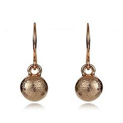 Pilgrim - Rose sphere drop earrings