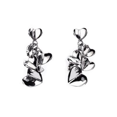 Hot Diamonds Sterling silver Echo heart cluster product image
