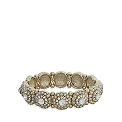 No. 1 Jenny Packham - Designer gold pearl cupcake bracelet