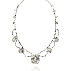 No. 1 Jenny Packham - Designer silver stone necklace