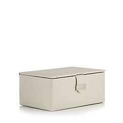 The Collection - Cream jewellery box