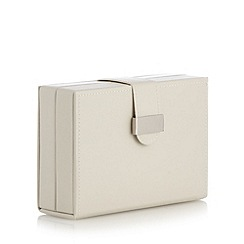The Collection - Cream travel jewellery box