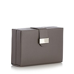 The Collection - Grey travel jewellery box