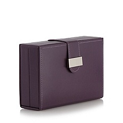 The Collection - Purple travel jewellery box