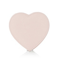The Collection - Pink swivel heart jewellery box