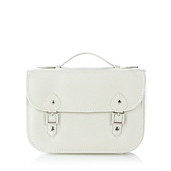 The Collection - Cream satchel jewellery box