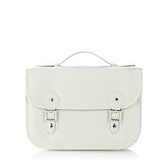 The Collection - Cream satchel jewellery box