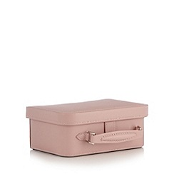 The Collection - Pink suitcase trinket box