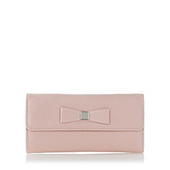 The Collection - Pink bow travel jewellery case
