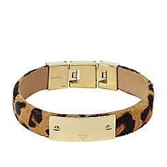 Fossil - Fossil ladies cheetah print bracelet