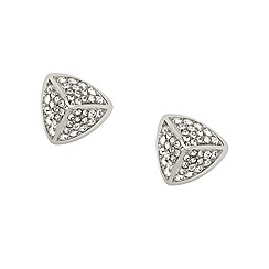 Fossil - Fossil silver-tone pyramid studs