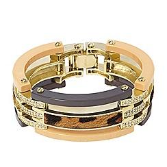 Fossil - Fossil cheetah statement bracelet