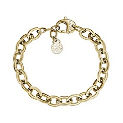 DKNY - Ladies fashion bracelet with logo charm