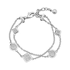 DKNY - Ladies double chain fashion bracelet