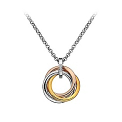 Hot Diamonds - Trio ring pendant