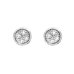 Hot Diamonds - Circle earrings
