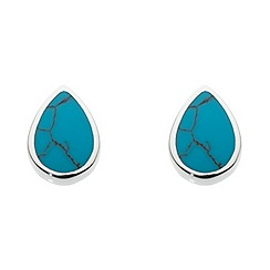 Dew - Small pear earrings