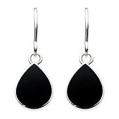 Dew - Pear shape drop earrings