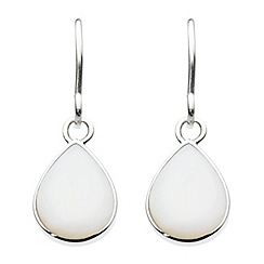 Dew - Pear shape drop earrings