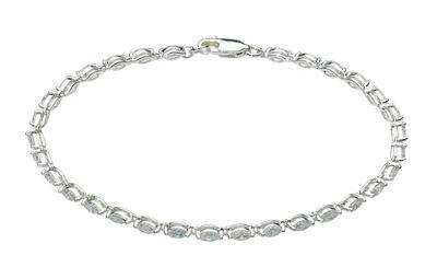 Dew Marquise slim tennis bracelet - . -