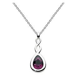 Dew - Swarovski crystal pear twist necklace