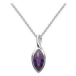 Dew - Swarovski crystal marquise pendant