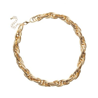 Call It Spring Gold plated ´Cielia´ necklace - . -