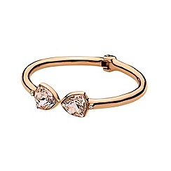 Dyrberg Kern - Rose gold plated stainless steel bracelet with swarovski elements