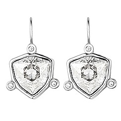 Dyrberg Kern - Silver plated stainless steel earrings with swarovski elements