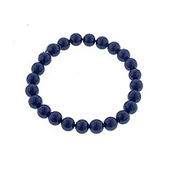 Finesse - Royal blue faux pearl bracelet