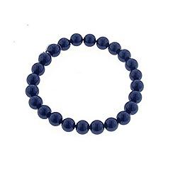 Finesse - Royal blue faux pearl bracelet