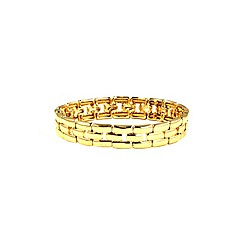 Anne Klein - Gold plated stretch bracelet