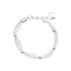 Anne Klein - Silver plated chain bracelet