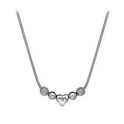 Hot Diamonds - Ladies silver necklace