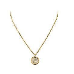 Dyrberg Kern - Gold plated neacklce with Swarovski elements