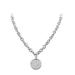 Dyrberg Kern - Silver plated neacklce with Swarovski elements