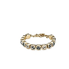 Dyrberg Kern - Gold plated bracelet with Swarovski elements