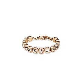 Dyrberg Kern - Rose gold plated bracelet with Swarovski elements