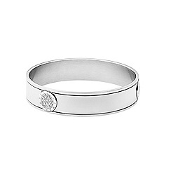 Dyrberg Kern - Silver plated bangle with Swarovski elements