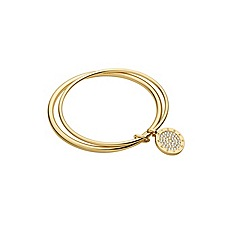 Dyrberg Kern - Gold plated bangle