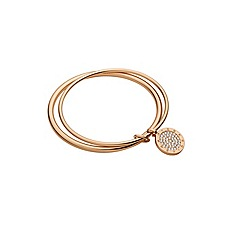 Dyrberg Kern - Rosegold plated bangle