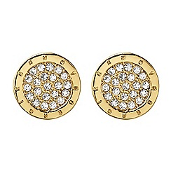 Dyrberg Kern - Gold plated stud earrings