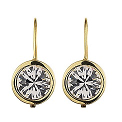 Dyrberg Kern - Gold plated earrings