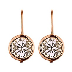 Dyrberg Kern - Rosegold plated earrings