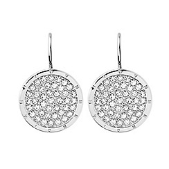 Dyrberg Kern - Silver plated earrings